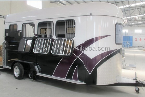 Customized 2 horse trailer large horses for sale
