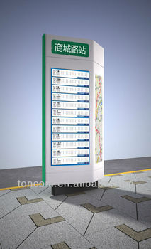 Outdoor Safety Electronic Signboard Designer