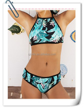 india sexy bikini girls photos high cut floral women swimwear
