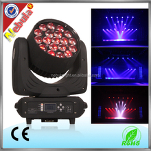 factory price 19*12W zoom wash led moving heads stage light dj lighting
