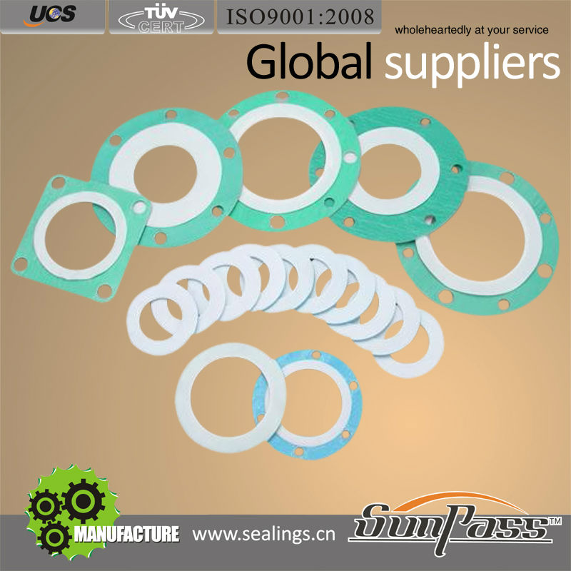 Popular Soft Seal Gasket Flat Ring PTFE Envelope Gasket