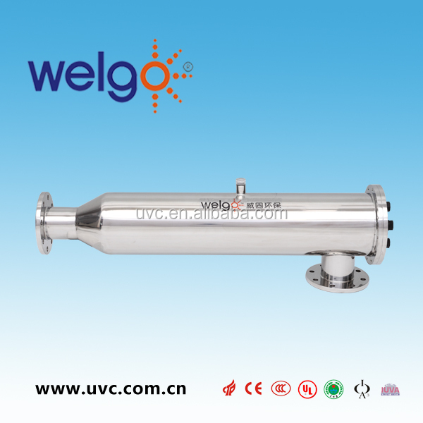 Large flow rate water treatment plant of UV Sterilizer