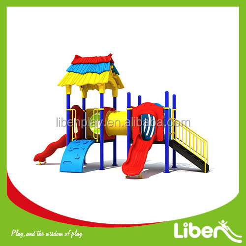 High quality Theme Amusement Park Rainbow Kids outdoor Playground For Sale