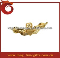 The wings logo custom badge/3D wings custom logo badge direct supplier