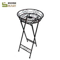 wholesale Indoor Metal plant Iron ornamental flower stand