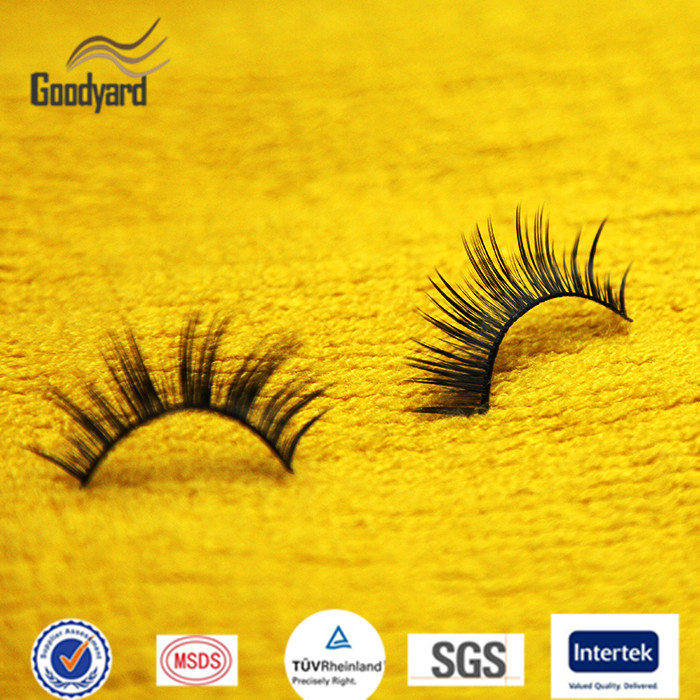 Manufacturer Supply Wholesale False Strip Eyelash Human Hair