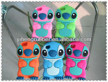 2012 New Arrival 3D Silicone cute Stitch case For iPhone5