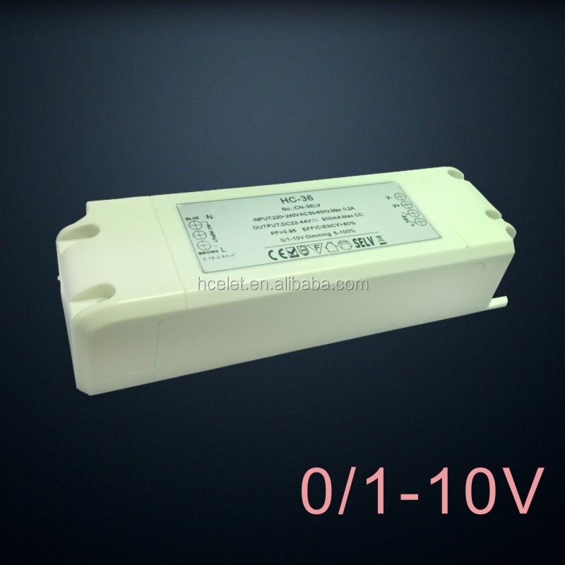 30W dimmable 230v ac 24v dc transformer