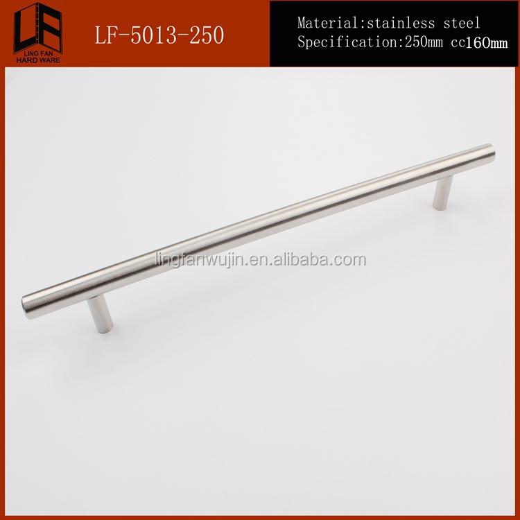 Supply Commercial Stainless Steel Glass Door Chrome Pull Handle with Round Tube with Factory Price