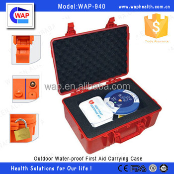Trade Assurance WAP-health colorful waterproof IP67 hard outdoor plastic carrying case with safety latches and padlockable