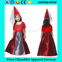 2017 hot sale Magic witch final fantasy cosplay halloween child girls costume