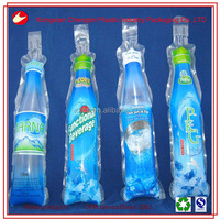 disposable bottle shaped drinking pure water packaging bags