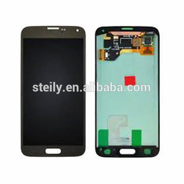 china wholesale market high quality mobile phones display for samsung galaxy s5 lcd digitizer