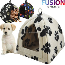 Factory Supplier Paws Pet Product Hot Dog House for Sale