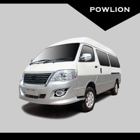 Powlion B10 CNG 15 Seats Minibus(Semi-high roof, New face)