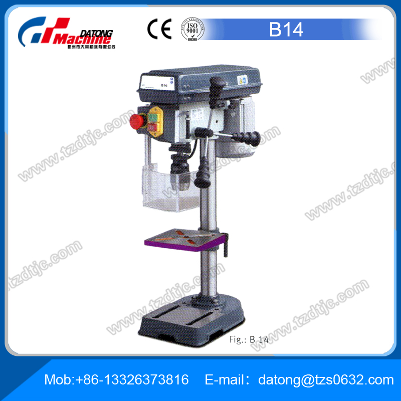 Bench drilling B14 diameter 13 to 32 mm for sale Micro drilling machine