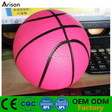 Existing one-time forming PVC inflatable basketball toy inflatable needle valve silicone ball inflatable small rubber ball