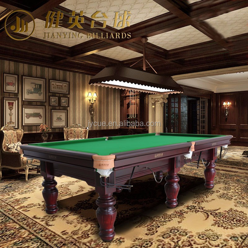Factory Direct 2016 high quality pool billiard snooker table