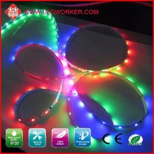 2015 Hot sale CE&ROHS magic digital led strip/5v ws2812b/rubber waterproofing strip