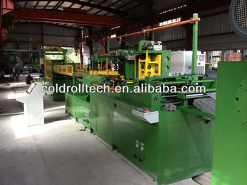 Cut to length line for transformer core cutting, Fully automatic machine