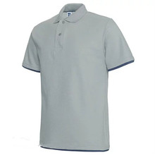OEM Wholesale Plain Color 65 Polyester 35 Cotton Fancy Design Mens Polo T Shirt