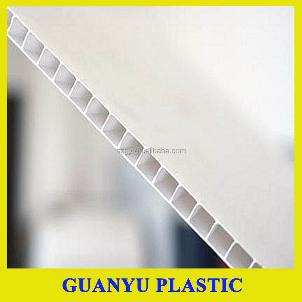 Polypropylene hollow sheet/ PP coroplast board /corrugated sheet