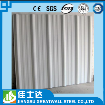 Decorative metal roofs,color corrugated steel sheet/galvalume wall panels/JIANGSU GREAT WALL CO.,LTD