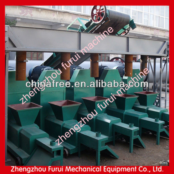 wood briquettes /rice husk charcoal making machine / Biomass Charcoal Rods Making Machine