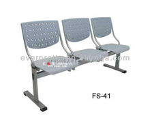 Wholesale Cheap Hospital Foldable Plastic Waiting Room Chairs for Sale
