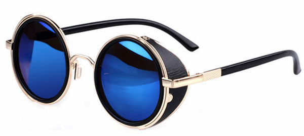 2014 new fashion vintage steampunk sunglasses