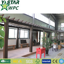 long lifetime WPC pergolas waterproof
