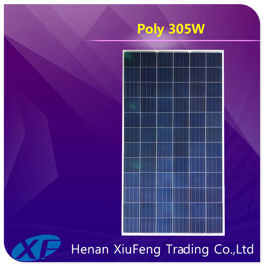 Xiufeng MCS IEC ISO certificated price solar panel 300w for Grenada