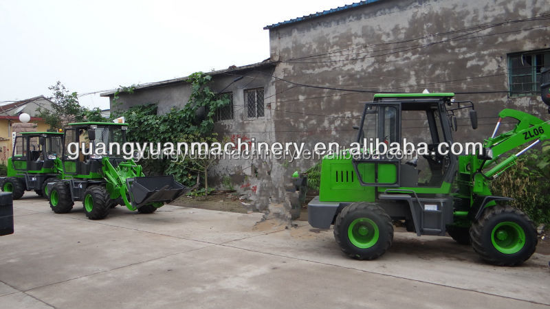 ZL06 CE with 2 cylinder engine good quality weifang wheelloader