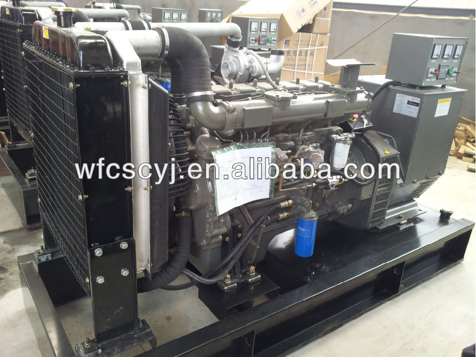 100KW diesel power generator for sale/China industrial generator/15KVA-625KVA genset