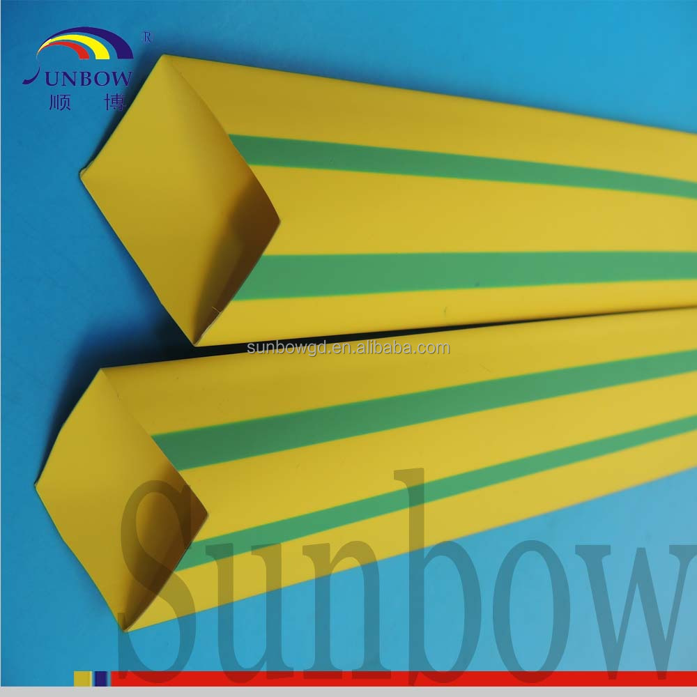 Heat shrink tube for green yellow underground cable