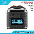 4K Ultra HD Action Camera 360 Degree View Angle Waterproof Wifi Action Camera 360 Sport Camera ZXS-360D
