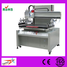 Single Color High Precision Vertical Screen Printing Machine for Sale