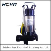 V1100DF 1.5 hp low head dirty drainage submersible sewage water pump