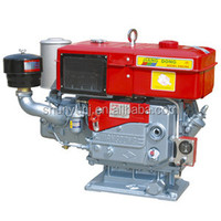 22hp single cylinder water cooled jiangdong diesel engine ZH1115
