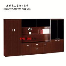 wooden filling cabinet with 4 doors / 3 drawer office metal storage cupboard DH301