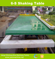 Best Price Tin Ore Extraction Machinery Shaking Table