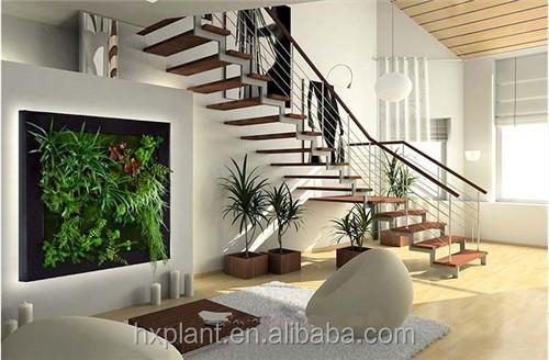 Pas cher art mur v g tal jardin vert artificielle mur - Mur vegetal interieur pas cher ...
