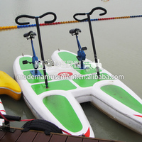 water tricycle bike,water bike pedal boats for sale