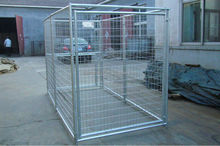 Heavy duty galvanized large dog kennel , Heavy duty galvanized large dog cage