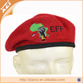 military beret red army hat embroidered hat can be customized beret