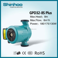 (GPD32-8S Plus) Solar System Hot Silent Water Reciprocating circulating Pump