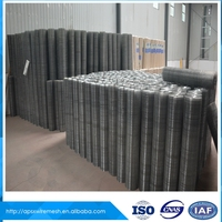 Galvanized Low-carbon steel 3/4 inch welded wire mesh fencing factory