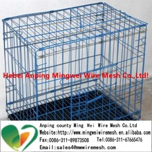 double dog cage cheap metal dog cage galvanized welded wire mesh