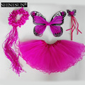 Wholesale Lovely Butterfly Fairy Wings Tutu Costume Sets