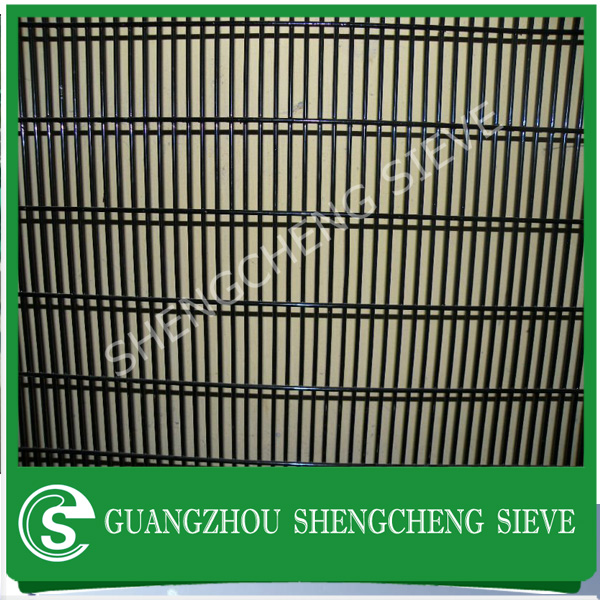 Export supply ornamental double loop wire fence Double horizontal wire fence Twin Wire Surround Mesh